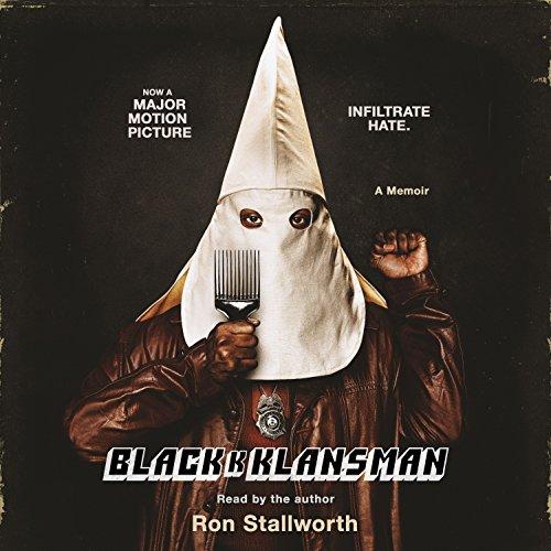 Black Klansman audiobook cover art