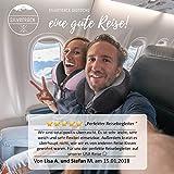 SilverRack Memory Foam Reise Nackenkissen (blau) als Nackenhörnchen - Flugzeug Kissen für erholsames und entspanntes Reisen - Praktisches Travel Pillow Reisekissen für Kinder und Erwachsene - 7