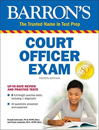 Court Officer Exam (Barron's Test Prep)