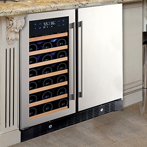 N'FINITY PRO HDX by Wine Enthusiast Wine & Beverage Center – Holds 90 Cans &...
