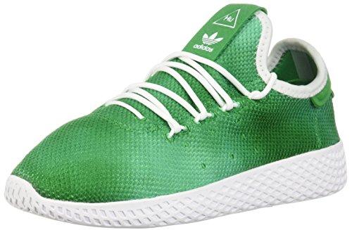 adidas Originals Kids' Pw Tennis Hu I,green/white/white,5 Medium US Toddler