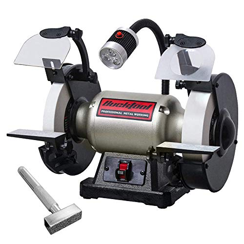 Bucktool 8Inch Low-Speed Bench Grinder