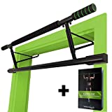 MAGNOOS Barre de Traction Matador | Premium Barres de Musculation pour la Porte | Amovible Simple | sans Vis ou Fixation |...
