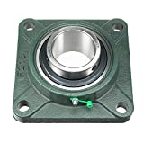 X-Dr Pillow Block Cast Bearing UCF213 65mm Mounted Bear Square Flange...