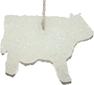 ChicWick Car Candle Leather and Lace Cow Shape Car Freshener Fragrance