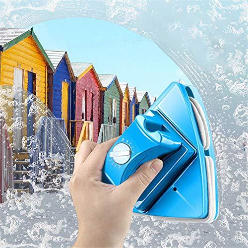InLoveArts Detergente per vetri a Doppia Faccia Tergicristallo Strumenti per la Pulizia Magnetica 5 Strumento di Pulizia Magnetico Regolabile per finestre con Doppi vetri a Tutta Altezza (Blu)
