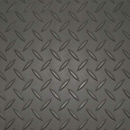 RoughTex 86059 Charcoal Diamond Deck 5' x 9' Golf Cart Mat (Various Options Available)