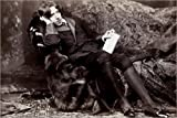 Poster 60 x 40 cm: Oscar Wilde von Napoleon Sarony/Everett