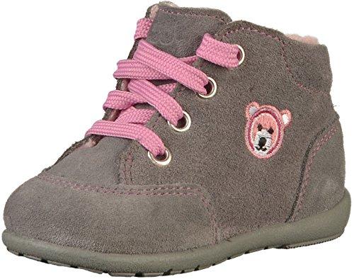 Richter Kinderschuhe Mädchen Duplo Sneaker, Grau (Ash 6300), 21 EU