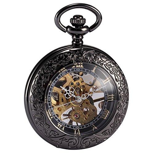 AMPM24 WPK164 - Reloj de Bolsillo Color Negro