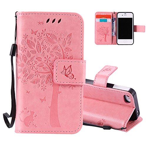 Aeeque Rose Coque pour iPhone 5C 4.0\