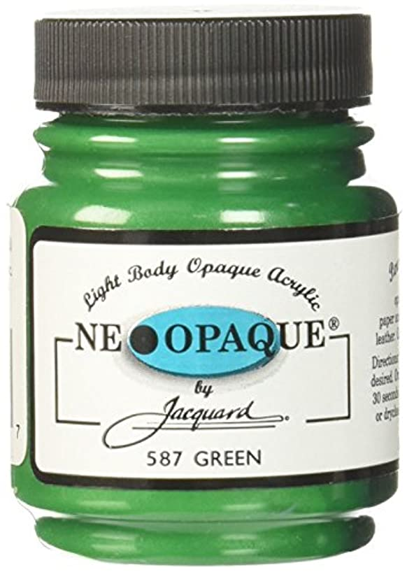 Jacquard Products 2-1/4-Ounce Neopaque Acrylic Paint, Green