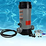 CL220 Off-line Automatic Pool Chlorinator for Swimming Pool Ponds Garden,Replacement for Hayward Chlorine Feeder,Economy in-Line Above-Ground Pool Automatic Chlorine Bromine Feeder,Easy to Install