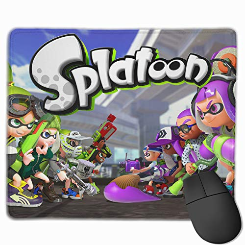 Splato-on Team Cute Gaming Mouse Pads Custom Overhand Keyboard Mouse Mat Wrist Pad 10' X 12' Gamepad
