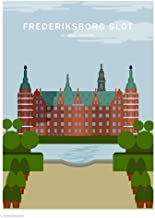 Wonderhagen北欧 インテリアおしゃれ ポスター「Frederiksborg Castle」