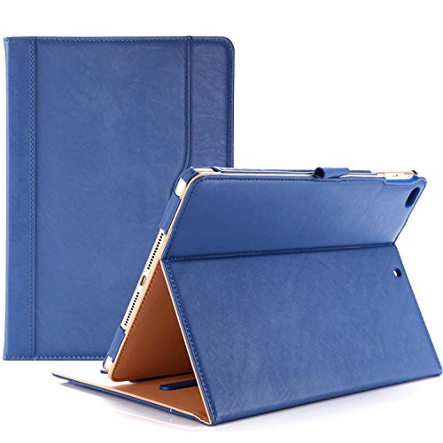 ProCase iPad 9.7 Case 2018/2017 iPad Case - Stand Folio Cover Case for Apple iPad 9.7 inch, Also Fit iPad Air 2 / iPad Air -Navy