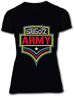 Womens T-Shirt Stugotz Army 3D Print Short Sleeve Top Tees