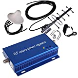 CDMA 850MHz Cell Phone Signal 3G 4G Repeater Booster Amplifier Extender + Yagi Antenna Kit with Indoor and Outdoor for Home/Office Use