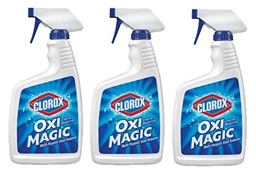 3 Pk, Clorox Oxi Magic Multi-Purpose Stain Remover, 22 Fl Oz