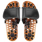 CHRUNONE Pressure Relief Foot Massage Slippers Acupressure Reflexology Massage Slippers (W:11.5-12.5 M:10-11)