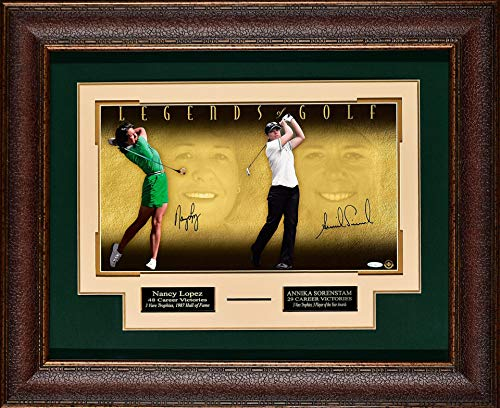 Why Should You Buy Signed Nancy Lopez and Annika Sorenstam -Legends of Golf. 3327 - Autographed Go...
