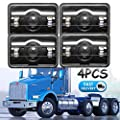 4X6 LED Headlights Fog Lights High Low Beam 6000K Super Bright Conversion Kit H4651 H4642 H4652 H4656 H4666 H4668 H6545 Trucks Headlamp Replacement