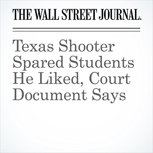 Texas Shooter Spared Students He Liked, Court Document Says copertina