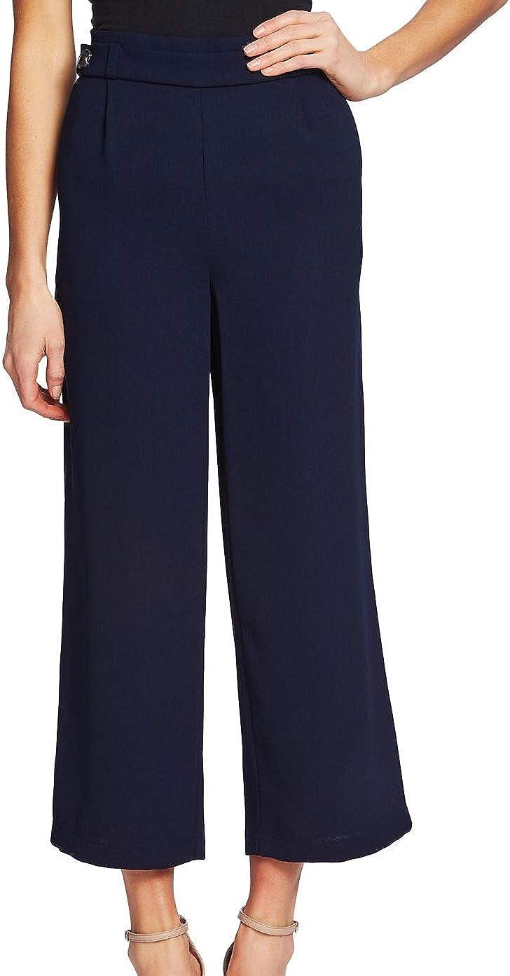 CeCe Womens Navy Wear to Work Pants Size 6