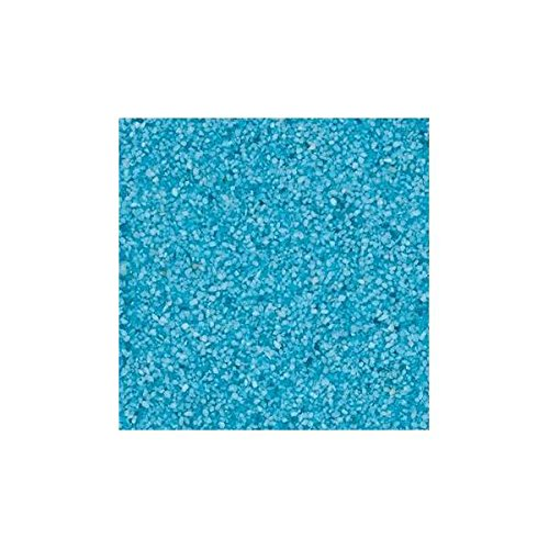 Farbsand, Dekosand, Türkis, 0,5mm, 1kg im Beutel, (1,95€ / kg) Season