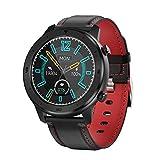 Leisont Dt78 Pantalla táctil Redonda Completa Smartwatch Hombres Ip68 Monitor de frecuencia cardíaca Impermeable de 5 días de Espera Smartwatch China Rojo