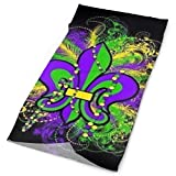 Outdoor Bandana multi-function Head scarf Print Mardi Gras headband magic scarf scarf