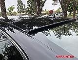 JR2 UNPAINTED for 2010 2011 2012 2013 2014 Hyundai Sonata 4D Rear Window Roof Spoiler
