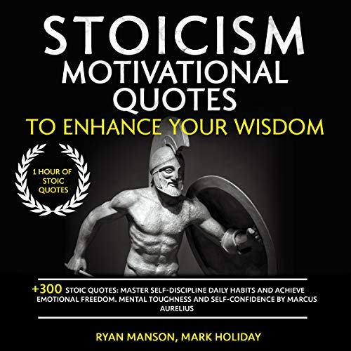 Couverture de Stoicism Motivational Quotes to Enhance Your Wisdom