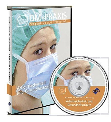 PRAXIS-DVD-Reihe Jährliche Unterweisungen für das Gesundheitswesen: Arbeitssicherheit und Gesundheitsschutz, 1 DVD-ROM60 Min.