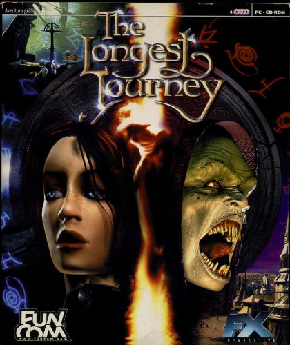 PC - The Longest Journey [Ed. Caja Grande Cartón]