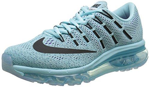 mejores Zapatillas de triatlón para mujer Nike Wmns Air MAX 2016, Zapatillas de Running para Mujer, Azul (Copa/Black-Blue Lagoon), 39 EU