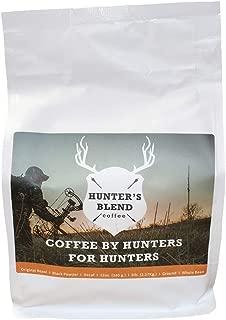 Hunter's Blend Coffee Direct Trade, Original Roast (Medium/Dark), Ground, 12 oz., Purchased Directly From Farmers