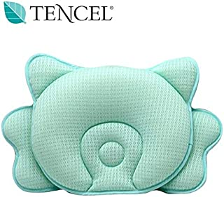 COALA HOLA Baby Pillow for Sleeping, Breathable 3D Air Mesh Infant Head Shaping, Newborn Pillow for Flat Head Syndrome Prevention and Head Support Security, Great