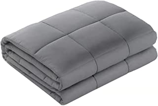 Qusleep Diamond Weighted Blanket - 48''72''15LB - Calm, Sleep Better and Relax naturally. Multiple Sizes and for Adult and Kids