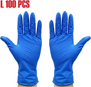 Rubber Comfortable Disposable Mechanic Nitrile Gloves Medical Exam Gloves YiYLunneo Protective Gloves