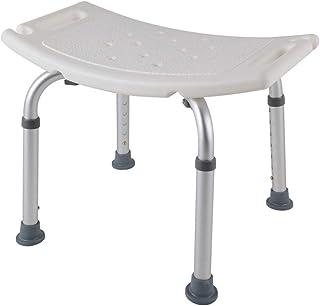 MCTHCH シャワーチェア バスチェア シャワースツール お風呂 椅子 風呂椅子 風呂チェア 背なし 高さ調節可能 持ち手 入浴補助用具