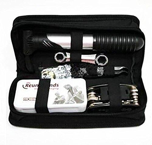 Multiherramienta Kit de herramientas 16 en 1 para reparación de bicicletas con mini bomba práctica y multifunción