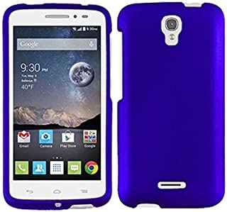FastSun Hard Case Phone Cover for Alcatel onetouch Pop Astro 5042T For Alcatel Pixi Charm A450TL (Blue)