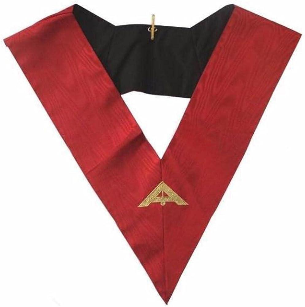 Masonic AASR collar 18th degree - Knight Rose Croix - Senior Warden