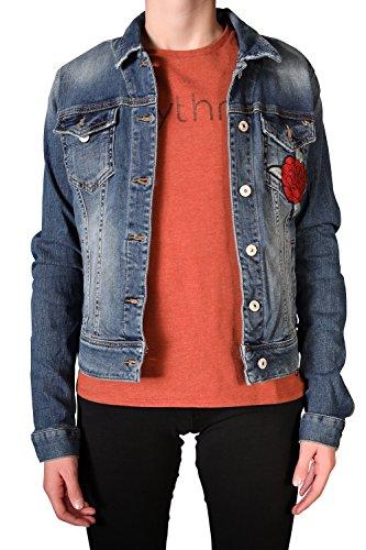 LTB Jeans Damen Dean X Jacket Jeansjacke, Blau (Florist Wash 50341), 34 (Herstellergröße: XS)