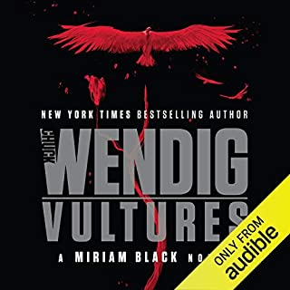Vultures audiobook cover art