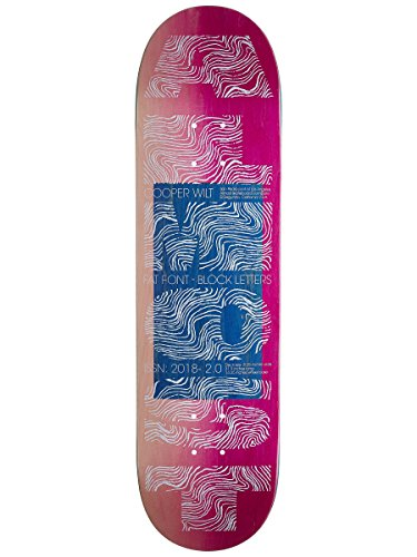 Almost Skateboard Deck Fat Font Pro R7 8.25
