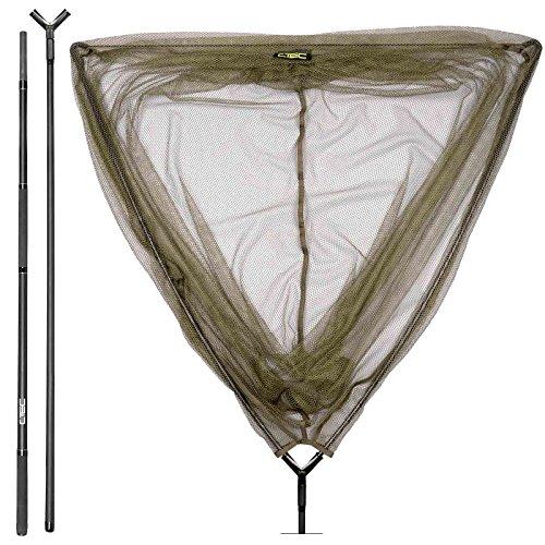 Spro Karpfenkescher angeln Karpfen - C-Tec Carp Net+Hanle 1,8m 2-teilig Combo