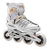 Xenon 2.0 Women's Fitness Inline Skate, White/Salmon, US 7