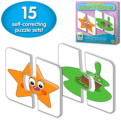 Colors and Shapes puzzle is a great learning toy for two year olds